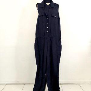 Michael Kors Blue Jumpsuit Size M
